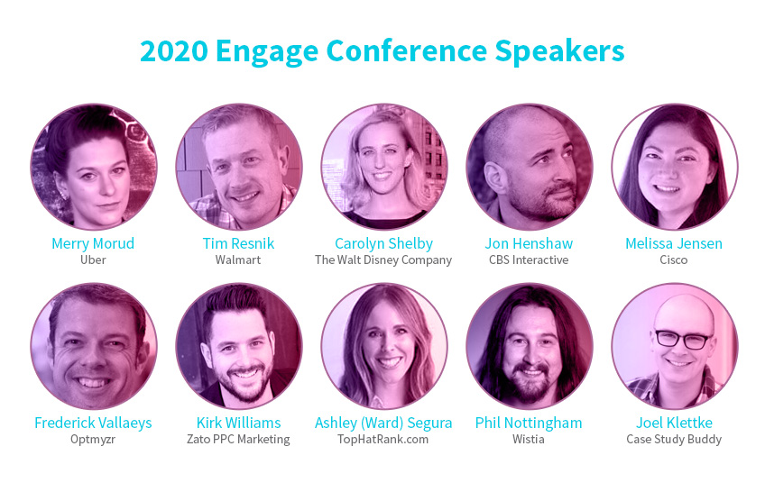 Engage 2020 Speakers
