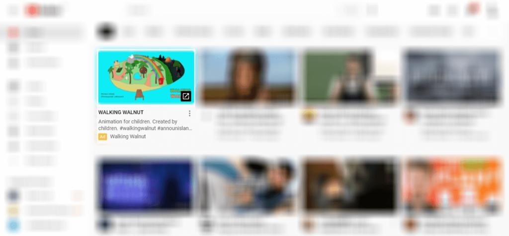 YouTube Tile Ad